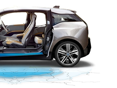 BMW i3 on tour
